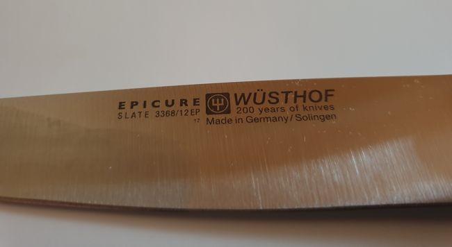 Wüsthof-Steakmessersatz-Epicure-Slate-Box-ätzzeichen